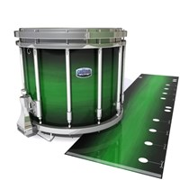 Dynasty Custom Elite Snare Drum Slip - Asparagus Stain Fade (Green)