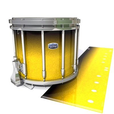 Dynasty Custom Elite Snare Drum Slip - Aureolin Fade (Yellow)