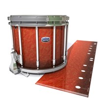 Dynasty Custom Elite Snare Drum Slip - Autumn Fade (Orange)