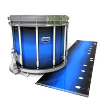 Dynasty Custom Elite Snare Drum Slip - Azure Stain Fade (Blue)