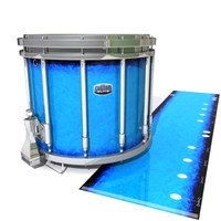 Dynasty Custom Elite Snare Drum Slip - Bermuda Blue (Blue)