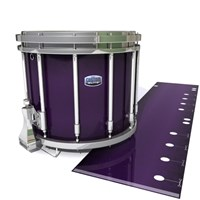 Dynasty Custom Elite Snare Drum Slip - Black Cherry (Purple)