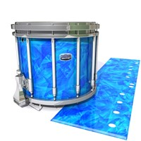 Dynasty Custom Elite Snare Drum Slip - Blue Cosmic Glass (Blue)