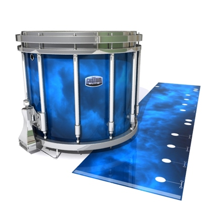 Dynasty Custom Elite Snare Drum Slip - Blue Smokey Clouds (Themed)