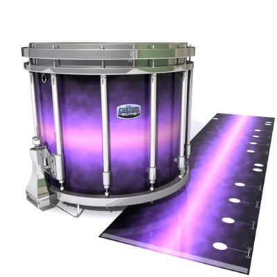 Dynasty Custom Elite Snare Drum Slip - Galactic Wisteria (Purple)