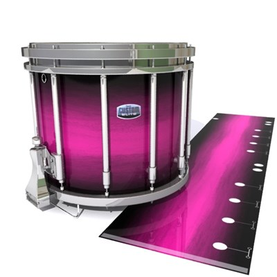 Dynasty Custom Elite Snare Drum Slip - Hot Pink Stain Fade (Pink)