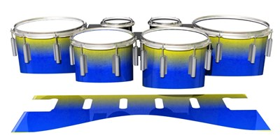 Dynasty 1st Generation Tenor Drum Slips - Afternoon Fade (Blue)