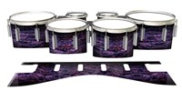 Dynasty 1st Generation Tenor Drum Slips - Alien Purple Grain (Purple)
