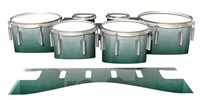 Dynasty 1st Generation Tenor Drum Slips - Alpine Fade (Green)