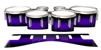 Dynasty 1st Generation Tenor Drum Slips - Amethyst Haze (Purple)