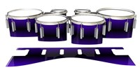 Dynasty 1st Generation Tenor Drum Slips - Antimatter (Purple)