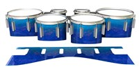Dynasty 1st Generation Tenor Drum Slips - Aquatic Blue Fade (Blue)