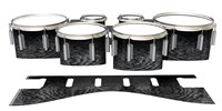 Dynasty 1st Generation Tenor Drum Slips - Ashy Grey Rosewood (Neutral)