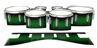 Dynasty 1st Generation Tenor Drum Slips - Asparagus Stain Fade (Green)