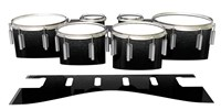 Dynasty 1st Generation Tenor Drum Slips - Asphalt (Neutral)