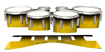 Dynasty 1st Generation Tenor Drum Slips - Aureolin Fade (Yellow)