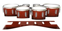 Dynasty 1st Generation Tenor Drum Slips - Autumn Fade (Orange)
