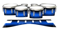 Dynasty 1st Generation Tenor Drum Slips - Azure Stain Fade (Blue)