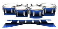 Dynasty 1st Generation Tenor Drum Slips - Azzurro (Blue)