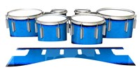 Dynasty 1st Generation Tenor Drum Slips - Bermuda Blue (Blue)