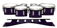 Dynasty 1st Generation Tenor Drum Slips - Black Cherry (Purple)