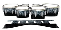 Dynasty 1st Generation Tenor Drum Slips - Blue Ridge Graphite (Neutral)