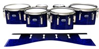 Dynasty Custom Elite Tenor Drum Slips - Andromeda Blue Rosewood (Blue)