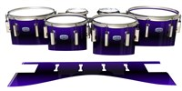 Dynasty Custom Elite Tenor Drum Slips - Antimatter (Purple)