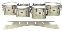 Dynasty Custom Elite Tenor Drum Slips - Antique Atlantic Pearl (Neutral)