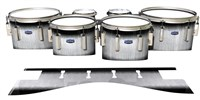 Dynasty Custom Elite Tenor Drum Slips - Black Magic Fade (Neutral)