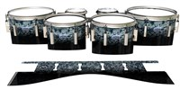 Dynasty Custom Elite Tenor Drum Slips - Blue Ridge Graphite (Neutral)
