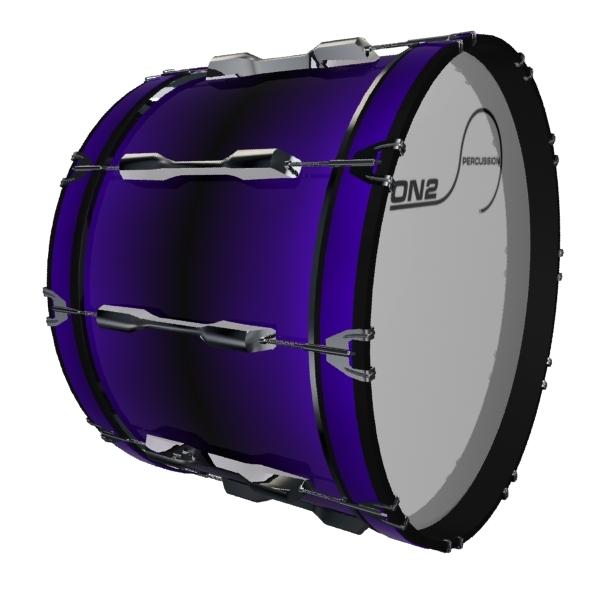"""Outside Hoop 16/"""" Tenor Drum Hoop Tape"""