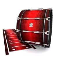 Ludwig Ultimate Series Bass Drum Slip - Active Red (Red)