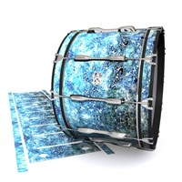 Ludwig Ultimate Series Bass Drum Slips - Aeriform (Blue)