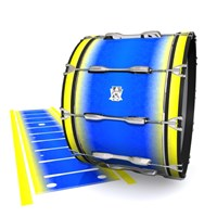 Ludwig Ultimate Series Bass Drum Slips - Afternoon Fade (Blue)
