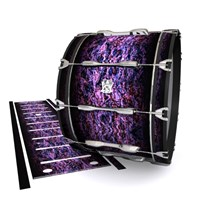 Ludwig Ultimate Series Bass Drum Slips - Alien Purple Grain (Purple)