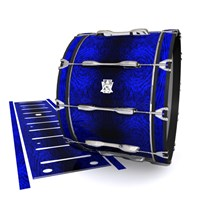 Ludwig Ultimate Series Bass Drum Slips - Andromeda Blue Rosewood (Blue)