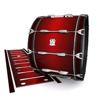 Ludwig Ultimate Series Bass Drum Slips - Apple Maple Fade (Red)