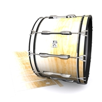 Ludwig Ultimate Series Bass Drum Slip - Maple Woodgrain White Fade (Neutral)