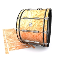 Ludwig Ultimate Series Bass Drum Slip - Radiant Burl (Neutral)