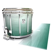 Ludwig Ultimate Series Snare Drum Slip - Alpine Fade (Green)