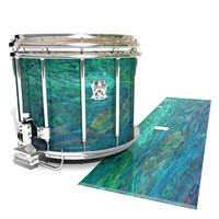Ludwig Ultimate Series Snare Drum Slip - Aquamarine Blue Pearl (Aqua)