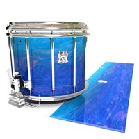 Ludwig Ultimate Series Snare Drum Slip - Aquatic Blue Fade (Blue)