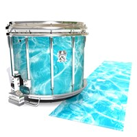 Ludwig Ultimate Series Snare Drum Slip - Aquatic Refraction (Themed)