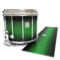 Ludwig Ultimate Series Snare Drum Slip - Asparagus Stain Fade (Green)