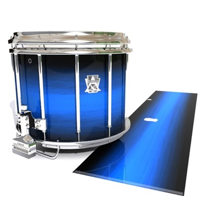 Ludwig Ultimate Series Snare Drum Slip - Azure Stain Fade (Blue)