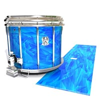 Ludwig Ultimate Series Snare Drum Slip - Blue Cosmic Glass (Blue)