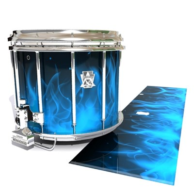 Ludwig Ultimate Series Snare Drum Slip - Blue Flames (Themed)