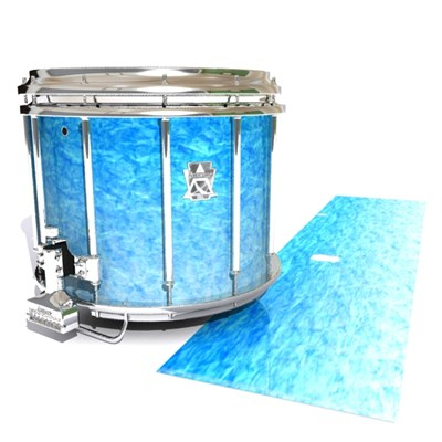 Ludwig Ultimate Series Snare Drum Slip - Blue Ice (Blue)