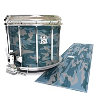 Ludwig Ultimate Series Snare Drum Slip - Blue Slate Traditional Camouflage (Blue)